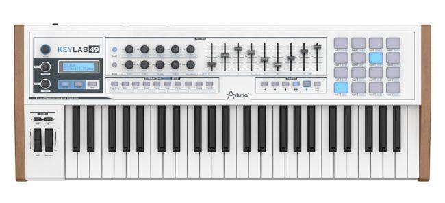 arturia keylab 49 midi keyboard controllers ARTURIA KEYLAB 49