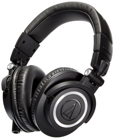 Audio Technica ATH M50 studio headphone