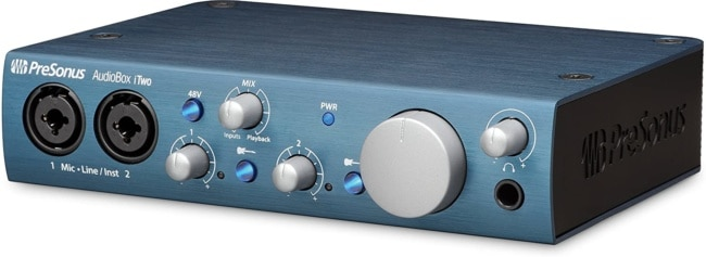 Presonus AudioBox iTwo 2x2 USB 2.0:iOS Interface, PC:Mac 2 Mic Pres