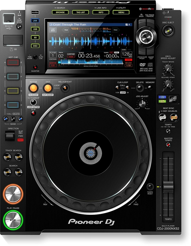 best dj cd player PIONEER CDJ-2000