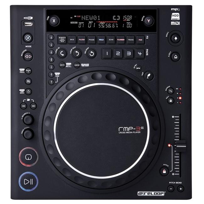 best dj cd player Reloop RMP-3 Alpha