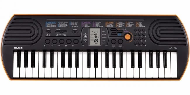 Casio SA76 digital piano