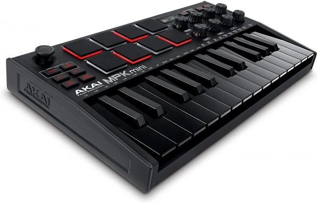 AKAI Professional MPK Mini MK3 - 25 Key USB MIDI Keyboard Controller black