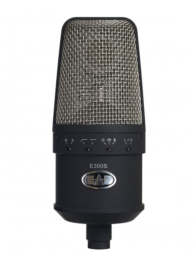 CAD Audio Equitek E300S Large Diaphragm Multi-Pattern Condenser Microphone