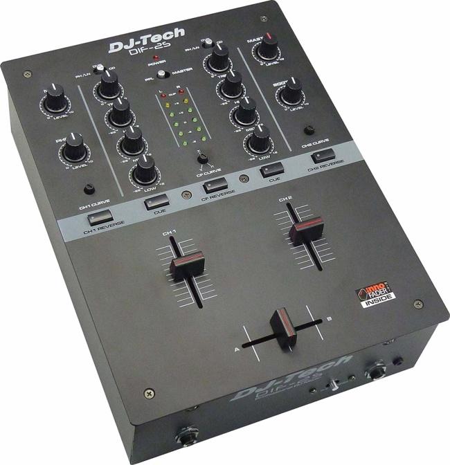 DJ Tech DIF-2S full featured Mixer