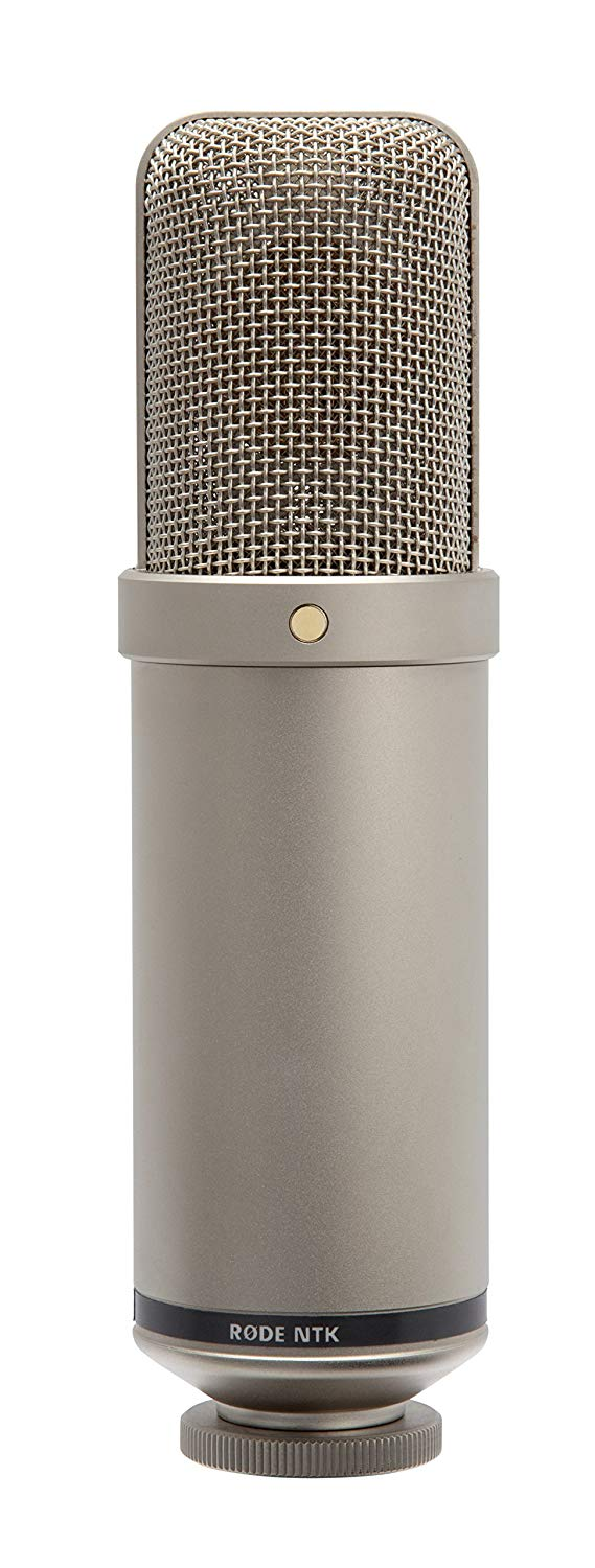 Rode NTK Premium Tube Cardioid Condenser Microphone for recording vocals