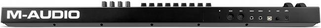 M-Audio Code 49 (Black) | USB MIDI Controller backside
