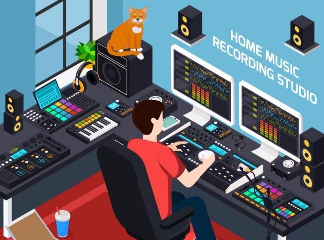 how to build a home recording studio setup