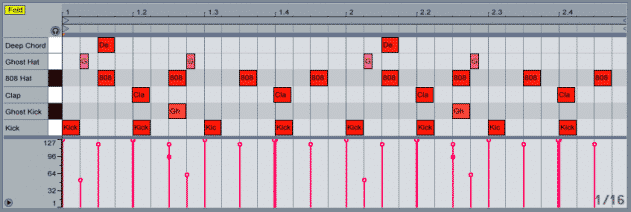 EDM drum production on ableton