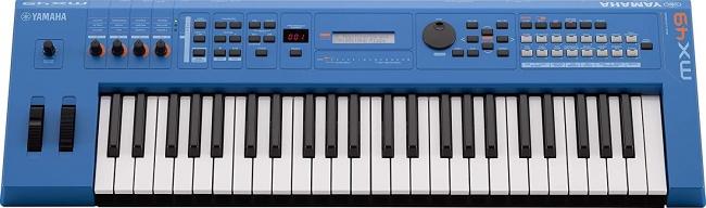 Yamaha MX49 Music Production Synthesizer blue