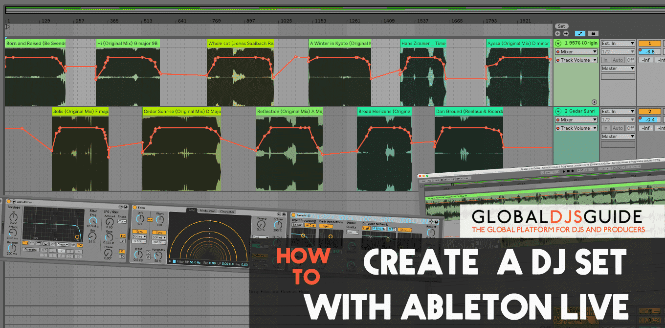 How to make a DJ set in Ableton Live