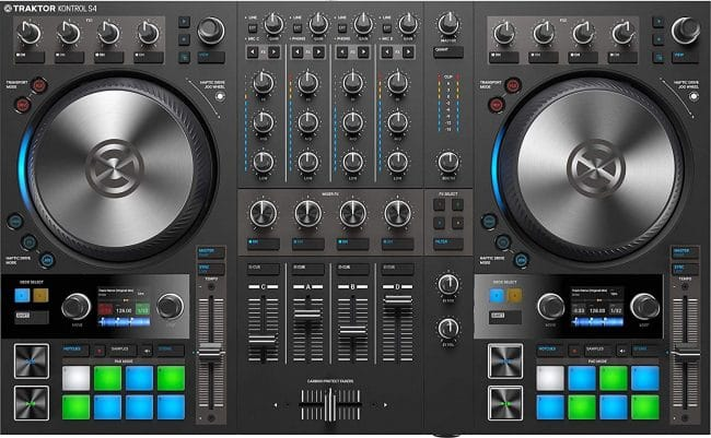Native Instruments Traktor S4 MK3 DJ controller