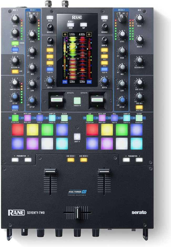 RANE DJ SEVENTY-TWO – Two-Channel Mixer