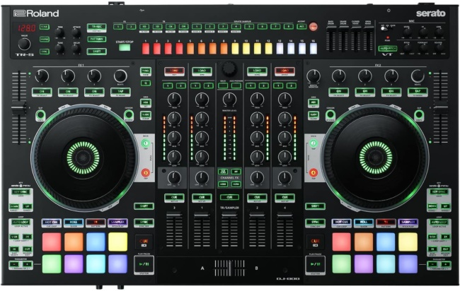 Roland, 4, Four-Channel, Two-Deck (DJ-808)