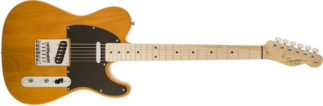 Squier by Fender Affinity Telecaster, Butterscotch Blonde