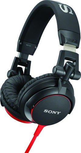 Sony MDRV55 Red Extra Bass & DJ Headphones MDR-V55