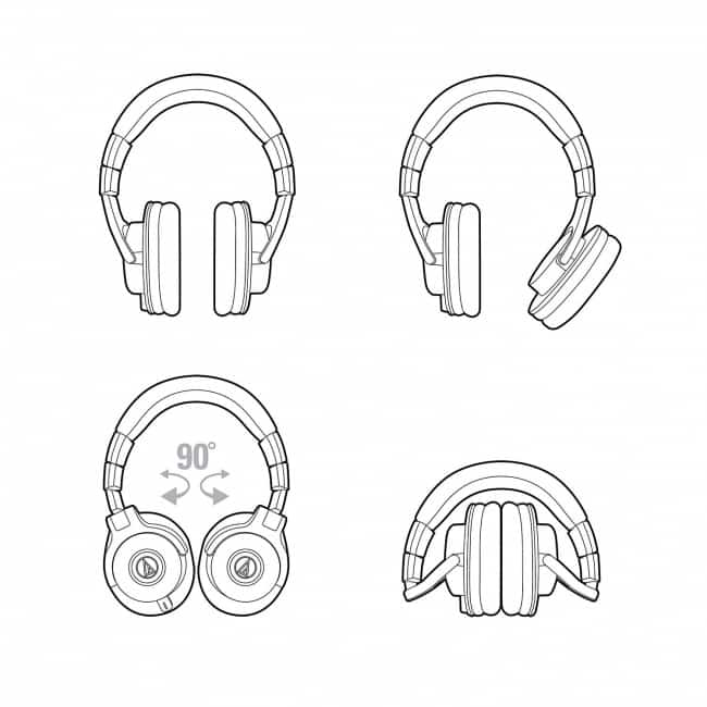 Audio-Technica ATHM40x Professional Monitor Headphones icon