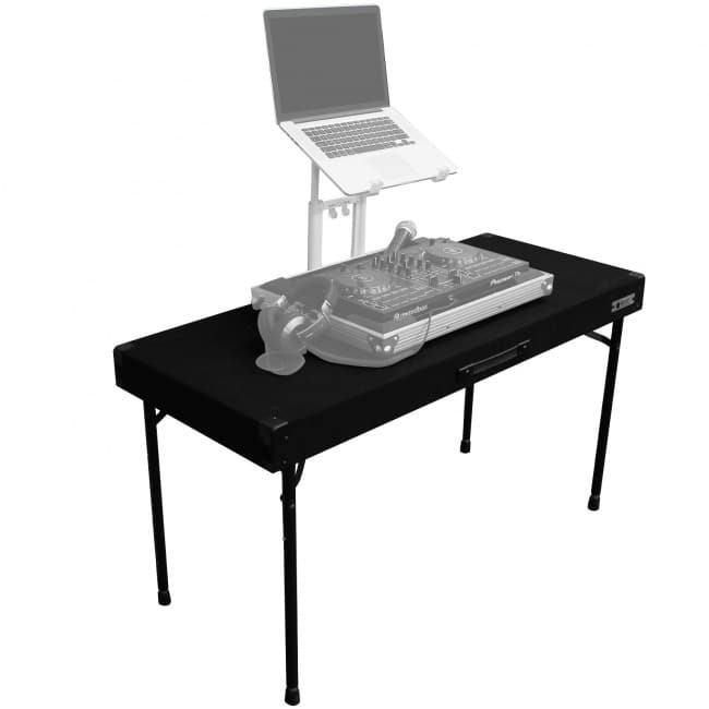 Odyssey Adjustable Carpeted DJ Table