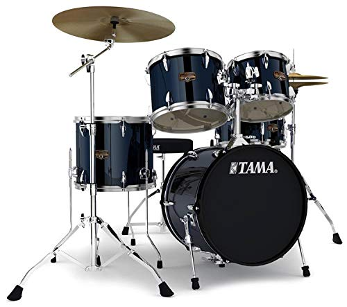 Tama Imperialstar Complete Drum Set - 5-piece - 18 Kick - Midnight Blue