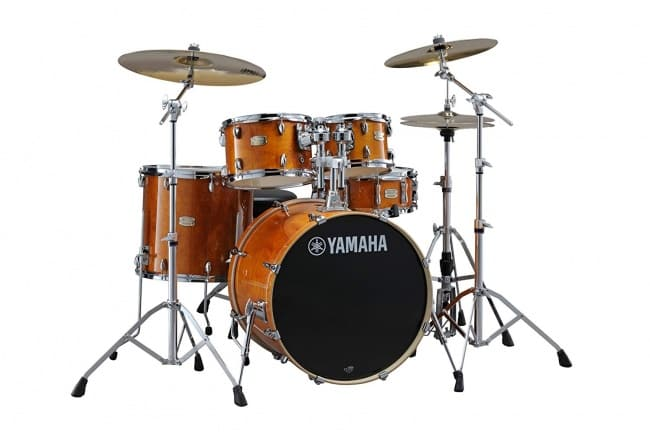 Yamaha Stage Custom Birch 5pc Drum Shell Pack - 20 Kick, Honey Amber