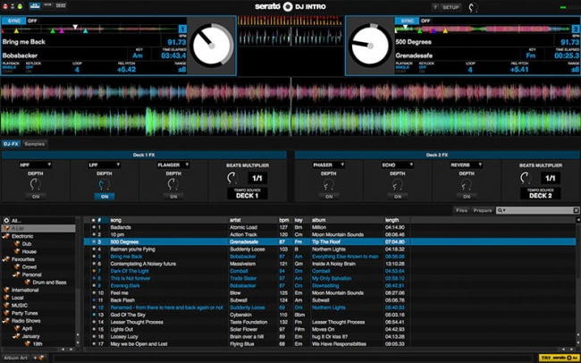 serato dj intro - best free dj software