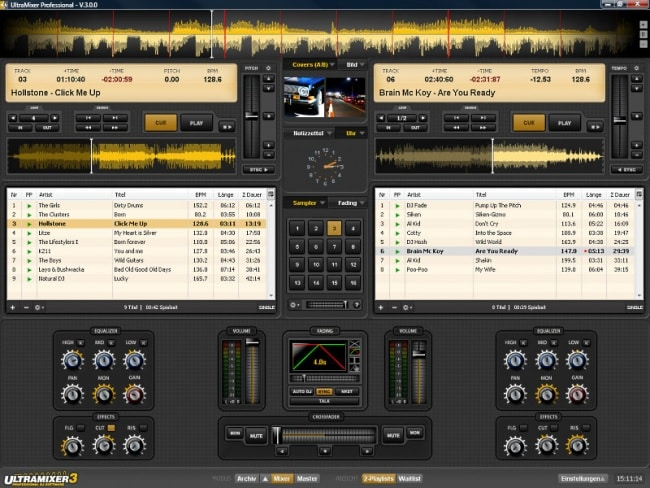 ultramixer3 cross - best free dj software