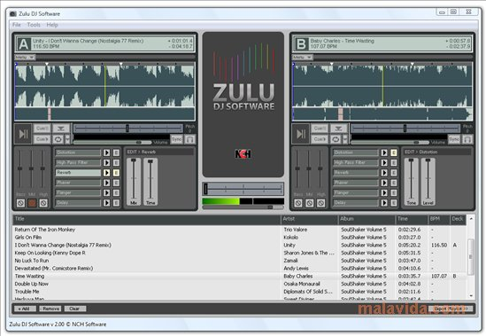 zulu dj - best free dj software