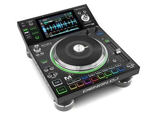 Denon DJ SC5000M | Professional DJ Media Player with Motorised Platter