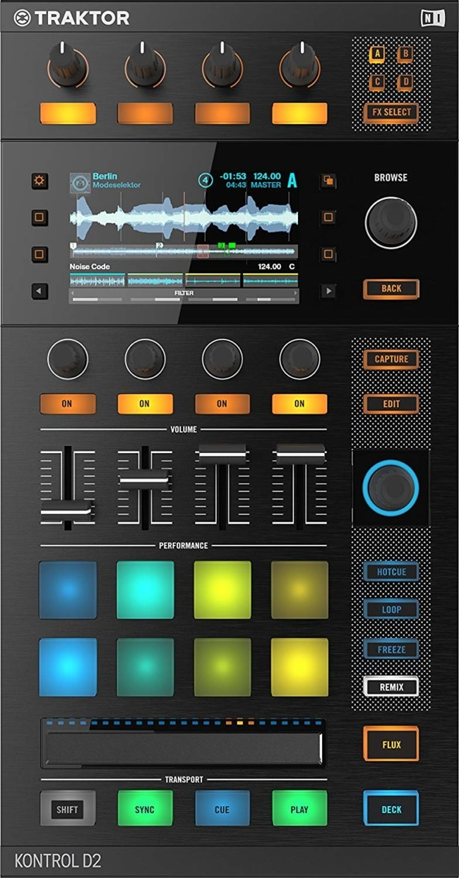 Native Instruments Traktor Kontrol D2 DJ Controller