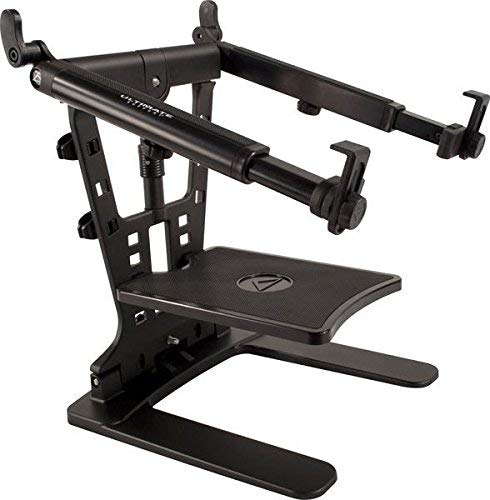"Ultimate Support Hyperstation QR Hyper Series Desktop and 5:8"" Thread Mountable Laptop:DJ Stand"