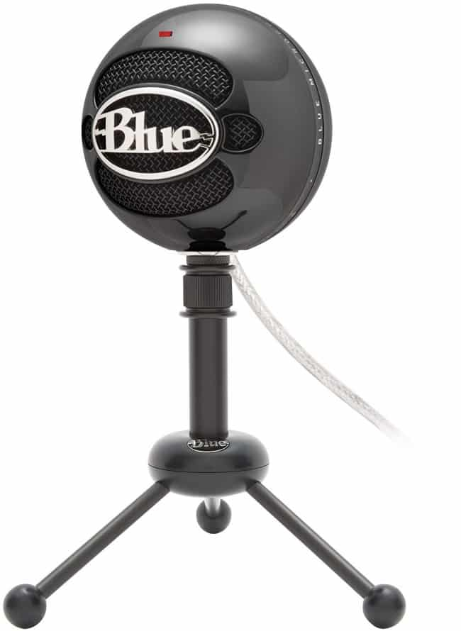 Blue Snowball USB Microphone (Gloss Black)