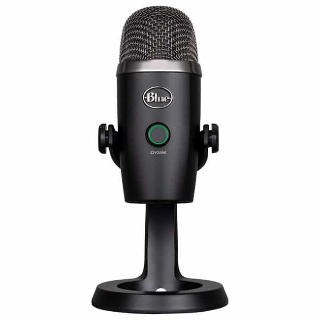 Blue Yeti Nano Premium USB Mic for Recording and Streaming-Blackout
