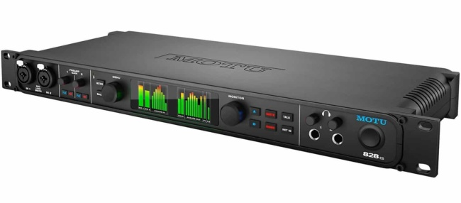 MOTU 828es 28x32 Thunderbolt USB 2.0 Audio Interface