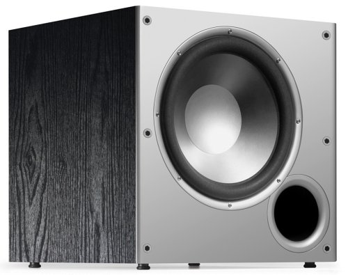 Polk Audio PSW10 10 Powered Subwoofer - Featuring High Current Amp and Low-Pass Filter | Up to 100 Watts