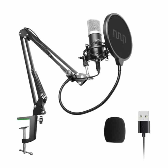 USB Podcast Condenser Microphone