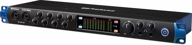 PreSonus Studio 8 Mic Pres-10 Line Outs-ADAT (USB-C Audio Interface