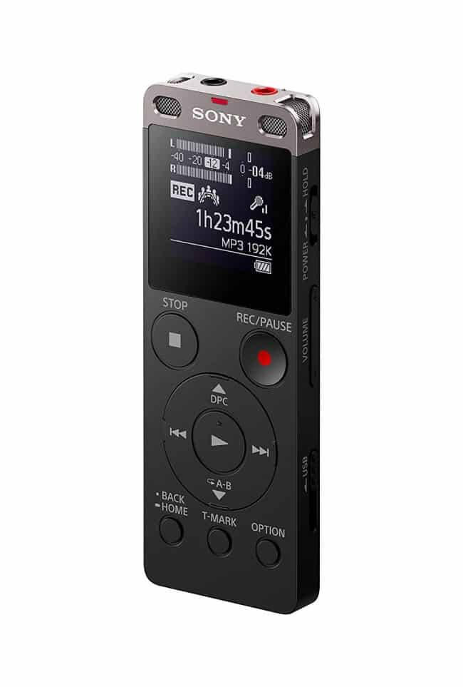 Sony ICDUX560BLK Digital Voice Recorder 1 Black