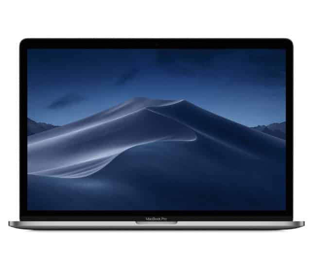 Apple MacBook Pro (15-inch, Touch Bar, 2.3GHz 8-core Intel Core i9, 16GB RAM, 512GB SSD) - Space Gray