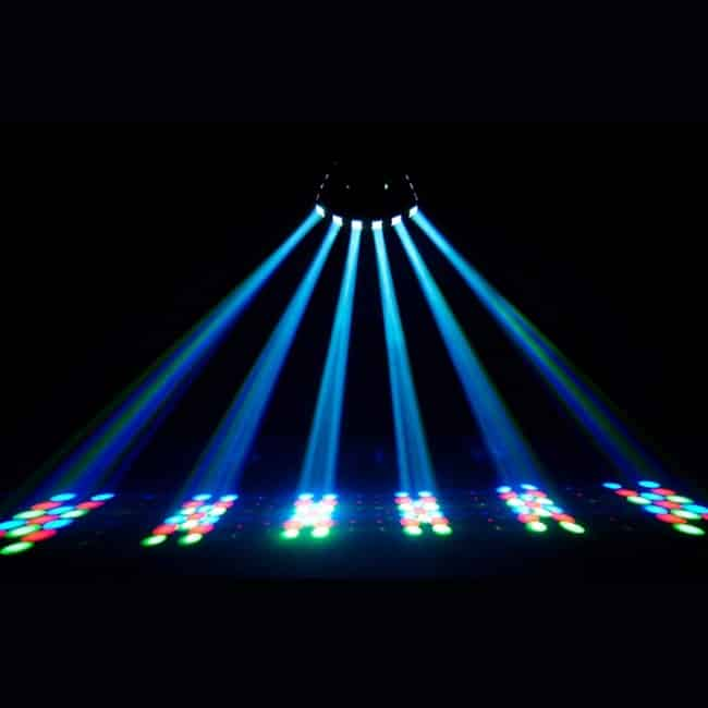 CHAUVET DJ Derby X RGB LED Derby w:Static, Blackout, Strobe Effect Light & Automated:Sound Active Programs 2