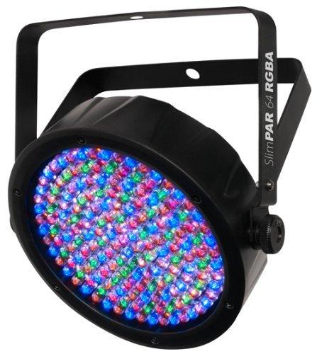 CHAUVET DJ LED Lighting, BLACK (SlimPAR64 RGBA)