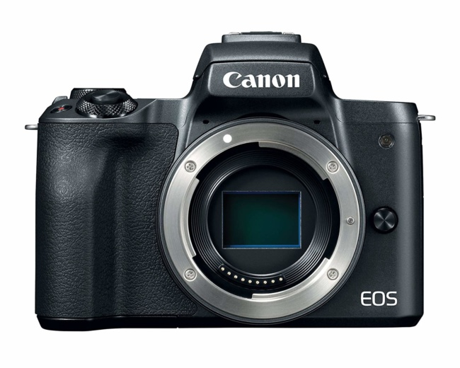 Canon Mirrorless Camera Body [EOS M50] with 4K Video, 24.1 Megapixel (APS-C) CMOS Sensor