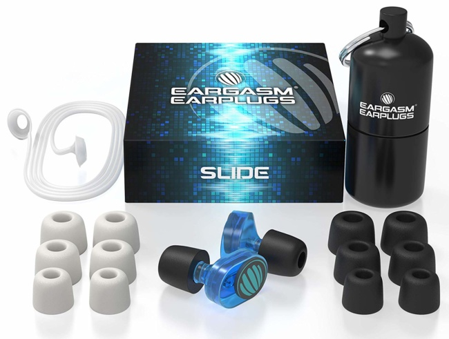 Eargasm Slide Earplugs for Concerts Musicians Motorcycles Noise Sensitivity Conditions and More