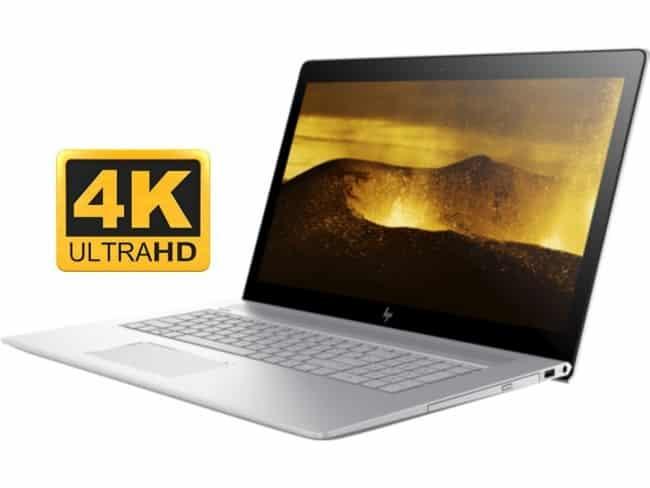 HP Envy 17t 17.3 inch UHD 4K Laptop PC (Intel 8th Gen Quad Core Processor, 16GB RAM, 1TB HDD + 128GB SSD, 17.3 4K UHD (3840x2160) Display, NVIDIA GeForce MX150 4GB, DVD, Win 10 Home)