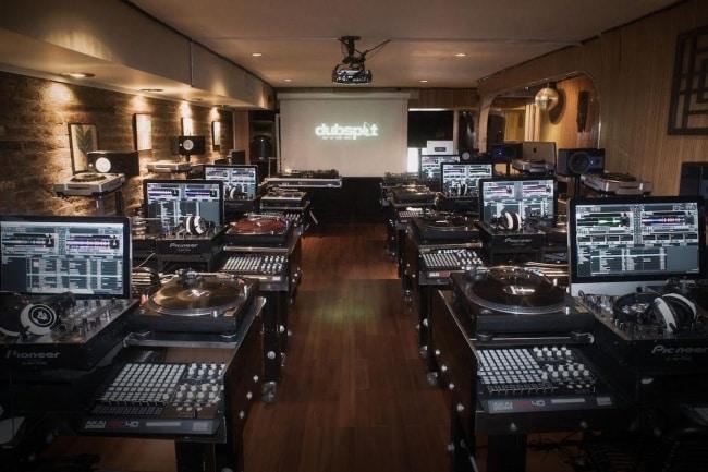 Dubspot Music School DJ room