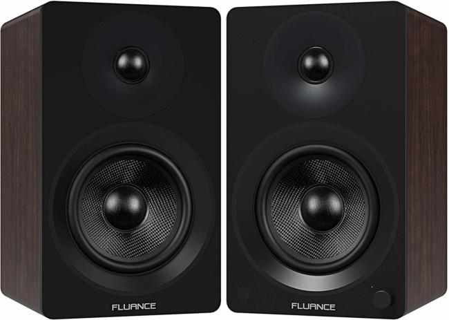 "Fluance Ai60 High Performance Powered Two-Way 6.5"" 2.0 Bookshelf Speakers"