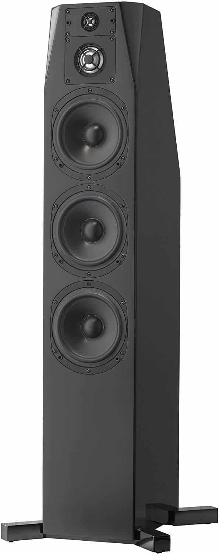 NHT C Series C-4 Floor-Standing 4-Way Tower Speaker, Single, High Gloss Black