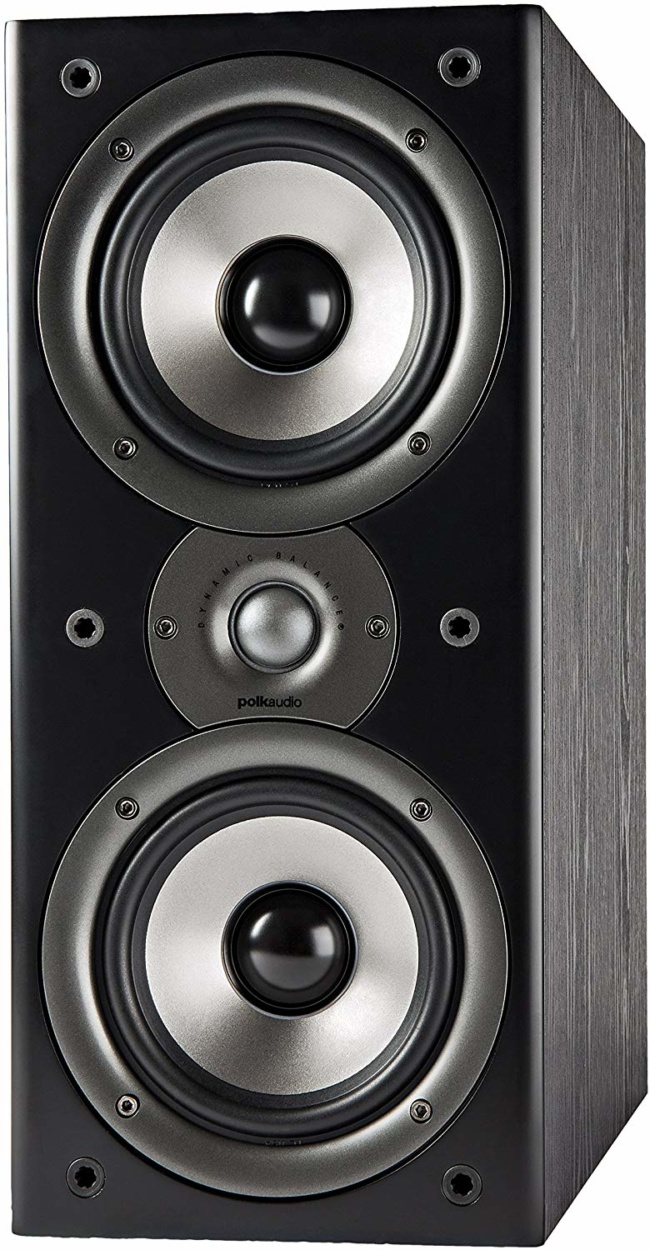 Polk Audio Monitor 40 Series II Bookshelf Speaker - Big Sound, High Performance