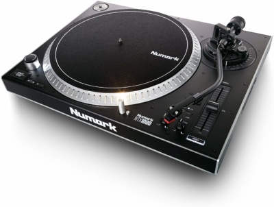 Numark NTX1000 | Professional High-Torque Direct-Drive DJ Turntable with S-Shaped Tonearm