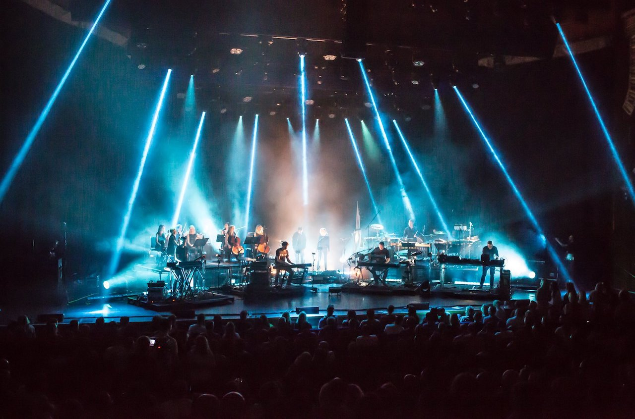 When Electronic Music Meets Live Orchestras