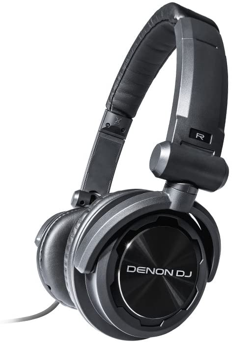 Denon DJ HP600 | Value On-Ear DJ Headphones with Swiveling Ear Cups